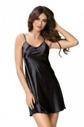 Koszula nocna Rita czarna Donna WYSYŁKA 24H
