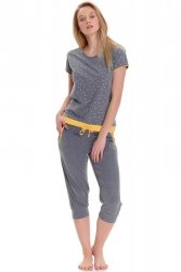 Piżama damska Dn-nightwear PM.9416
