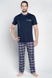 Piżama męska Italian Fashion Alvaro kr.r. dł.sp.
