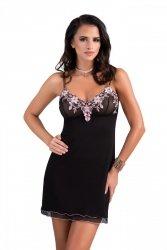 Koszula nocna Kylie czarna Donna WYSYŁKA 24H