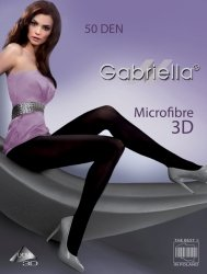 Rajstopy Gabriella Microfibre 3D 120 50 den