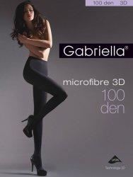 Rajstopy Gabriella Microfibre 3D 119 2-4 100 den