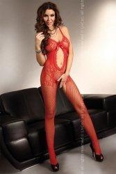 Bodystocking Magali red S/L Livia Corsetti WYSYŁKA 24H