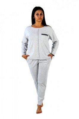 Dres- piżama damska De Lafense 450 Nice dł/r S-2XL