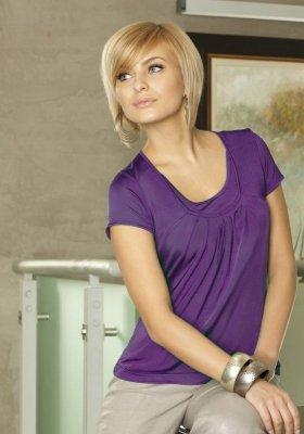 Bluzka Shelly 3327 fioletowa