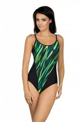 Strój kąpielowy Lorin LO 22-7155 Zielono-Czarny