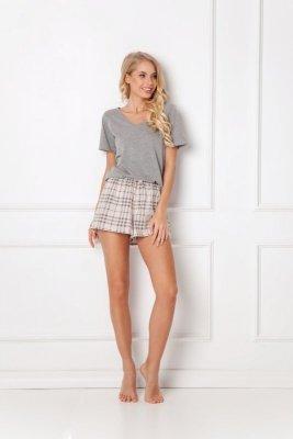 Piżama damska Aruelle Lonette Short Beige