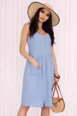 Sukienka Merribel Akminas Blue