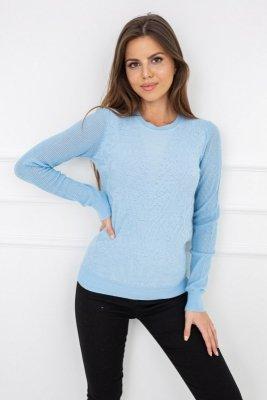 Sweter damski Vittoria Ventini Kimberly Baby Blue MCY02189