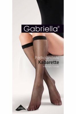 Podkolanówki damskie Gabriella kabaretki 151