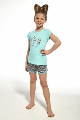 Piżama dziewczęca Cornette 248/66 Zebra