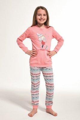 Piżama dziewczęca Cornette 594/107 Walk