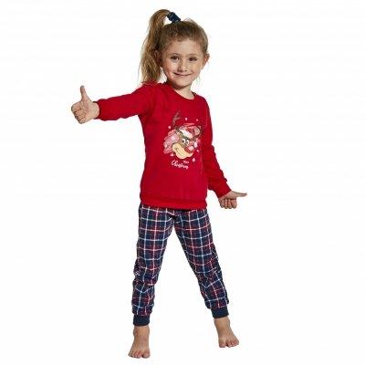 Piżama dziewczęca Cornette 594/130 Reindeer