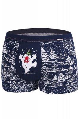 Bokserki Cornette Merry Christmas Snowman