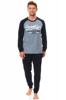 Piżama męska Dn-nightwear PMB.9508