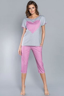 Piżama damska Italian Fashion Dekada kr.r. sp.3/4