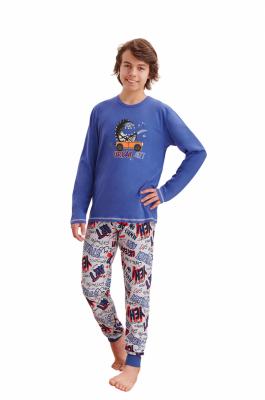 Piżama chłopięca Taro Miłosz 1036 146-158 Z'20