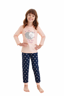 Piżama dziewczęca Taro Elza 1165  122-140 Z'20