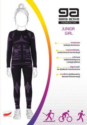 Komplet Gatta 42417S Thermoactive Junior Girl