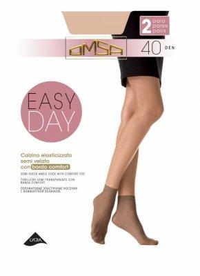 Skarpetki damskie Omsa Easy Day 40 den A'2