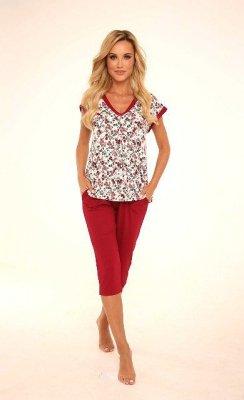 Piżama damska De Lafense 491 Mia plus size
