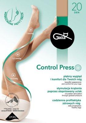 Pończochy damskie Gatta Control Press 20 den
