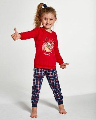 Piżama dziewczęca Cornette Kids Girl 594/130 Reindeer 86-128