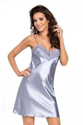 Koszula nocna Eva srebrna Donna