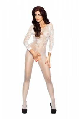 Bodystocking BS007 white Passion