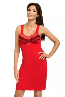 Koszula nocna Jasmine czerwona Donna