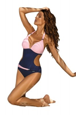 Monokini Marko Beatrix Blueberry-Rosa Confetto M-337 (12)