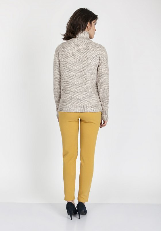 Sweter MKM Estelle SWE 121 Beżowy
