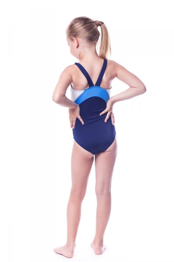 Kostium kąpielowy dziewczęcy Shepa 045 (B2D7/4)