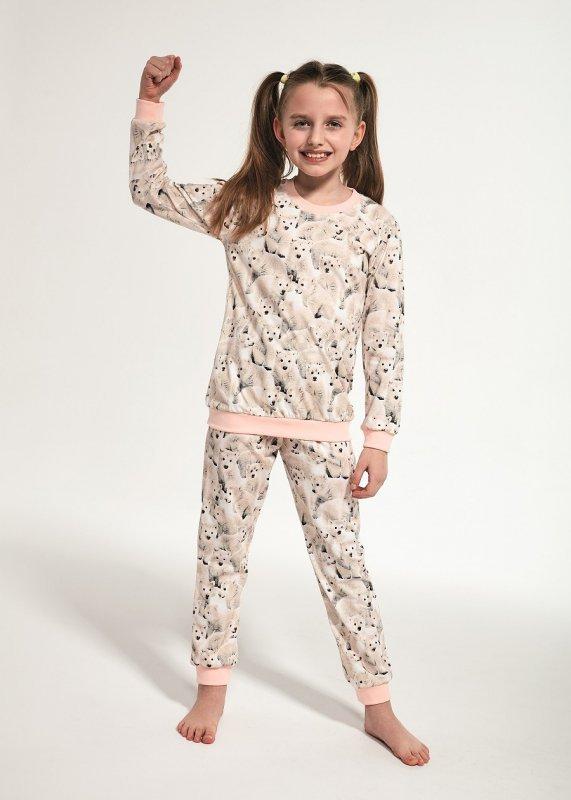 Piżama dziewczęca Cornette Kids Girl 032/118 Polar dł/r 86-128
