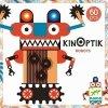 Djeco, Kinoptik, roboty, magnetyczna układanka kreatywna