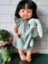 Miniland, lalka dziewczynka, Azjatka, 38cm