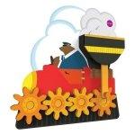 Oribel, zabawka edukacyjna, wesoła ciuchcia, verti play