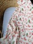 Cuddle Dreams, otulacz bambusowy - Motyle, duży
