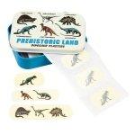Rex, zestaw plastrów w puszce, dinozaury, 30szt
