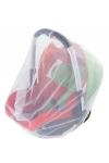 malooni, moskitiera uniwersalna na nosidełko/fotelik, biała