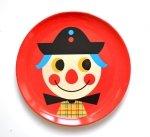 OMM Design, talerzyk z melaminy z klaunem
