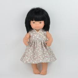 sukienka dla lalki Miniland 38cm