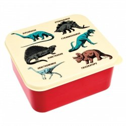 Rex, lunch box, dinozaury