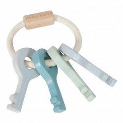 Little Dutch, kluczyki drewniane, niebieskie