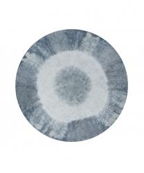 Lorena Canals, dywan bawełniany, tie-dye, vintage blue, 150 cm