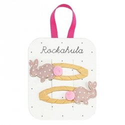 Rockahula Kids, spinki do włosów, Hoppy Bunny