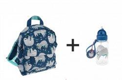 Rex, komplet: plecak + bidon, leniwiec