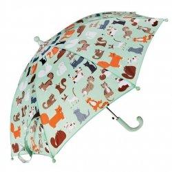 Rex london, parasol dziecięcy, zwierzątka, 9 lives, kotki