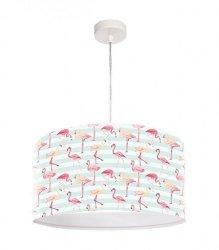 Macodesign, lampa wisząca, flamingi
