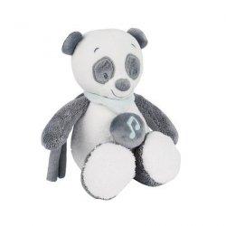 nattou, zabawka - pozytywka, panda